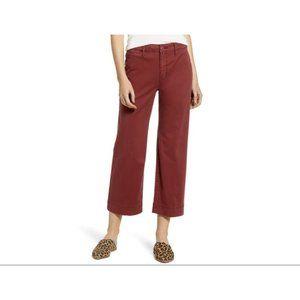 Sanctuary Red Jasper Wide Leg Cropped Pants 29